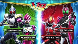 Gambar cover Kamen Rider Blade and Ex Aid | Kamen Rider Climax Fighter