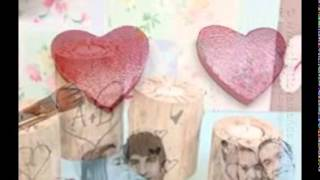 Wooden Hearts For Crafts