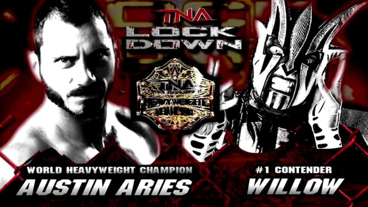 WWE Games Willow Jeff Hardy Wins TNA World Heavyweight Title Vs Austin Aries At LOCKDOWN