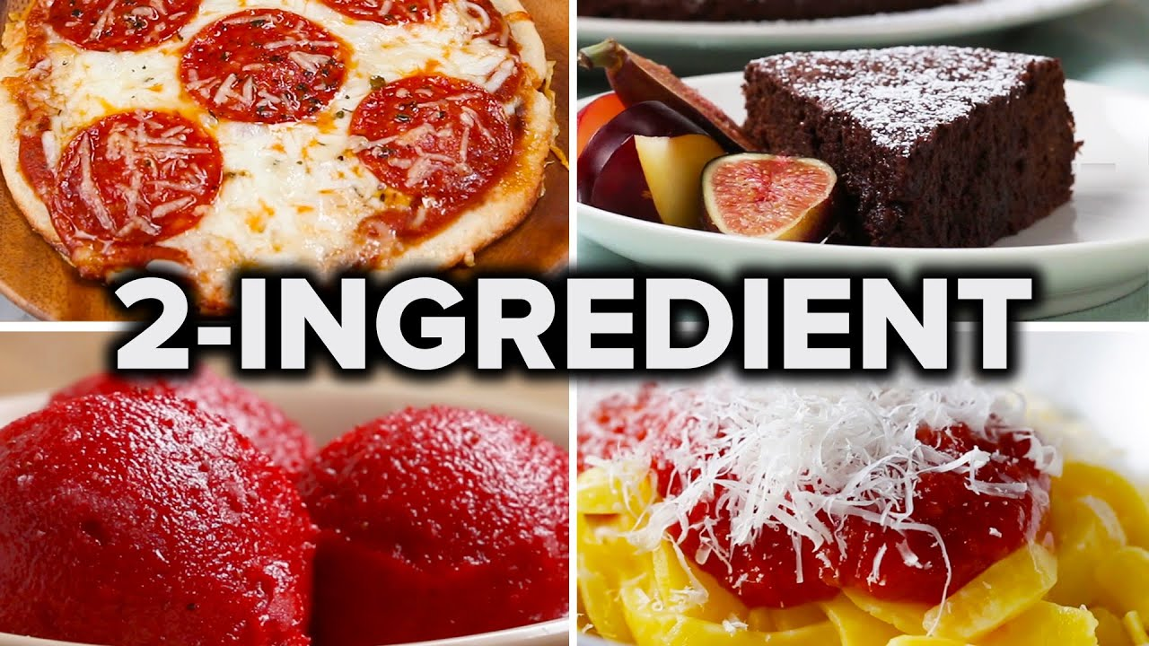 Download 5 Easy 2-Ingredient Recipes