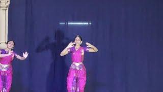 Bharatha Natyam performance by Smt. Keerthana & Kum. Krittika Swaminathan