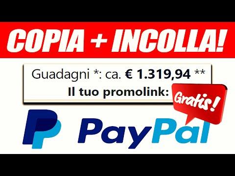 Come Guadagnare 1.319€ (Senza Investire) COPIA INCOLLA per Fare Soldi Online