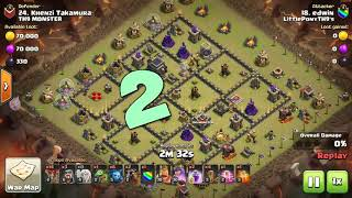 Top 3 Th9 Attacks | Cheap Easy | Clash Of Clans 2018| ft. CRUZ GAMING