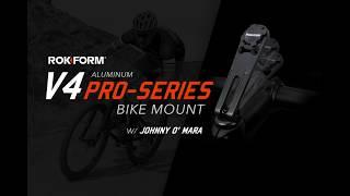 Rokform V4 Pro-Series Bike Mount Introduction and Installation with Johnny O'Mara   Rokform.com