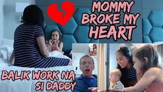 Download MOMMY BROKE MY HEART | BALIK WORK NA SI DADDY | NAIWAN ANG MOMMY MAG-ISA