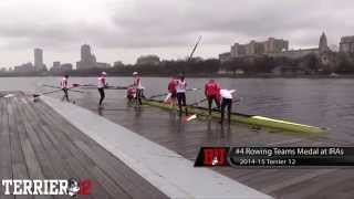 2015 Terrier Twelve #4: Rowing Teams Medal at IRAs