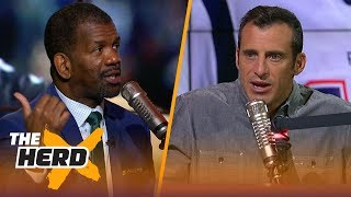 Rob Parker loves Lance Johnson criticizing the Patriots culture, Lakers playoff chances | THE HERD