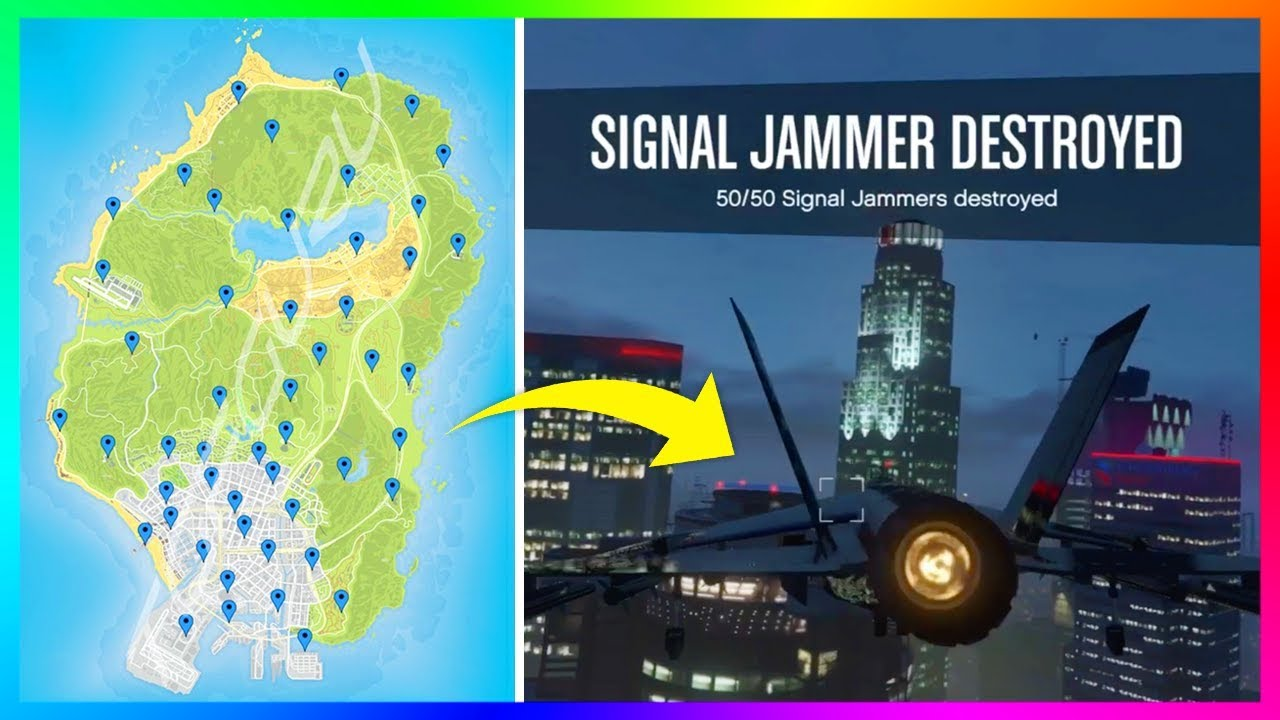 The Easiest Fastest Way To Find The Signal Jammers In Gta 5 Online And Unlock The Secret Reward