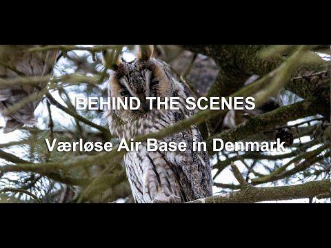 BEHIND THE SCENES - Værløse Air Base in Denmark  (Language: English)
