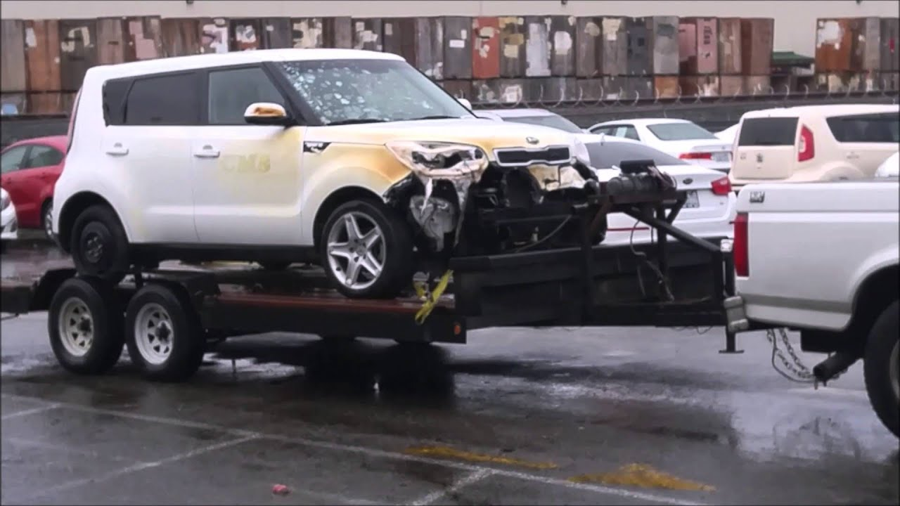 12 23 15 Work Kia Soul Comes In With Fire Damage