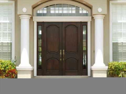 Elegant Front Door Designs In Wood For Houses UK