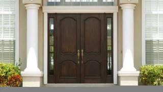 Front Door Designs in Wood for Houses UK