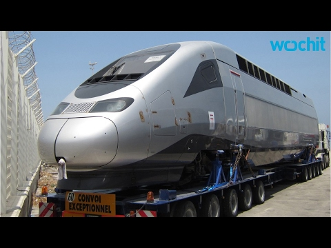Africa's first high-speed train