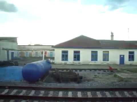 Отправление со станции Микунь поезда №42 Москва - Воркута.