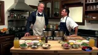 Todd Garner - Dads Doin' Dishes - Rustic Chicken Stew W Garlic Herb Crostinis