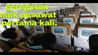 cara naik pesawat untuk ( pemula )  pertama kali