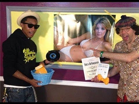 What A Twist: Pharrell Interviews Nardwuar!