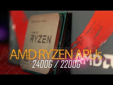 مراجعة (Ryzen APUs (2400G& 2200G - افضل حل لارخص تجميعة كمبيوتر