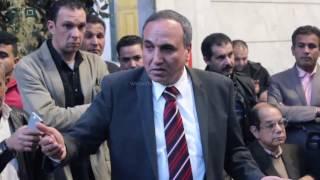 مصر العربية | عبد المحسن سلامة يقدم برنامجه لأعضاء نقابة الصحفيين