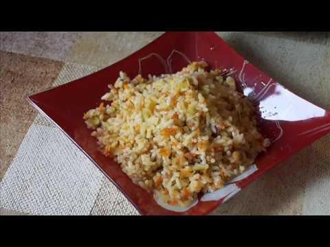 Домашние видео рецепты рис с овощами в мультиварке