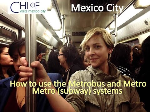 How to use the Metrobus and Metro (subway) systems