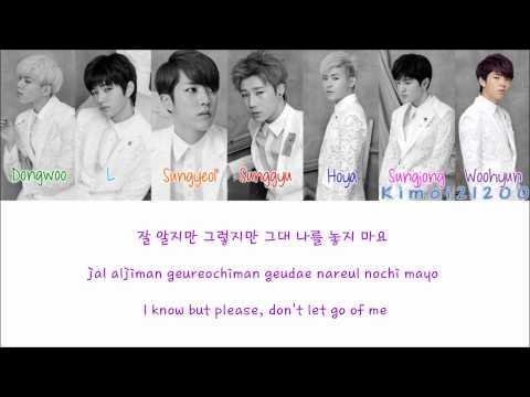 Infinite - A Person Like Me (나란 사람) [Hangul/Romanization/English] Color & Picture Coded HD