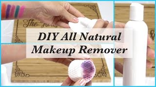 DIY All Natural Makeup Remover With Essential Oils-Quick & Easy Recipe!