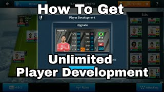 How To Get Unlimited Player Development in Dream League Soccer 2018