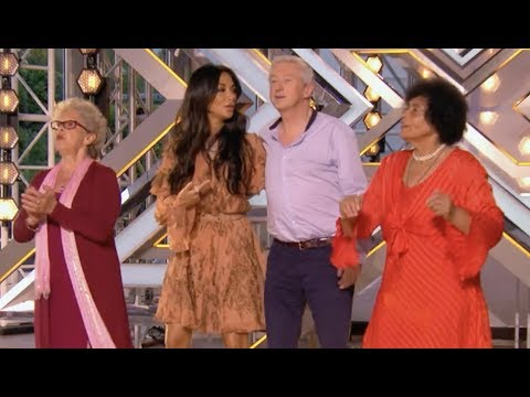 Judges Join Their Group To Prove That Age Is Just A Number | Audition 4 | The X Factor UK 2017