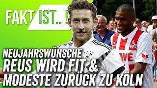 Bayern holt das Triple, Modeste kommt zurück nach Köln! - Onefootball Neujahrswünsche