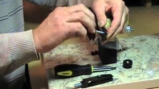 Точилка для ножів ''Хортиця''. Інструкція ч. 5 Заточка ножиць 1 ч.