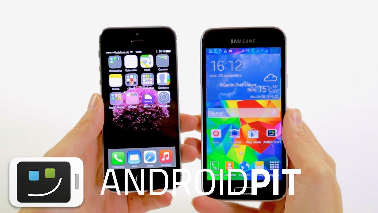 s5 mini vs s5 vs iphone 5s