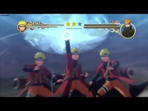Naruto Shippuden: Ultimate Ninja Storm 2 [HD] - Sage Naruto Vs Pain (Story Mode)