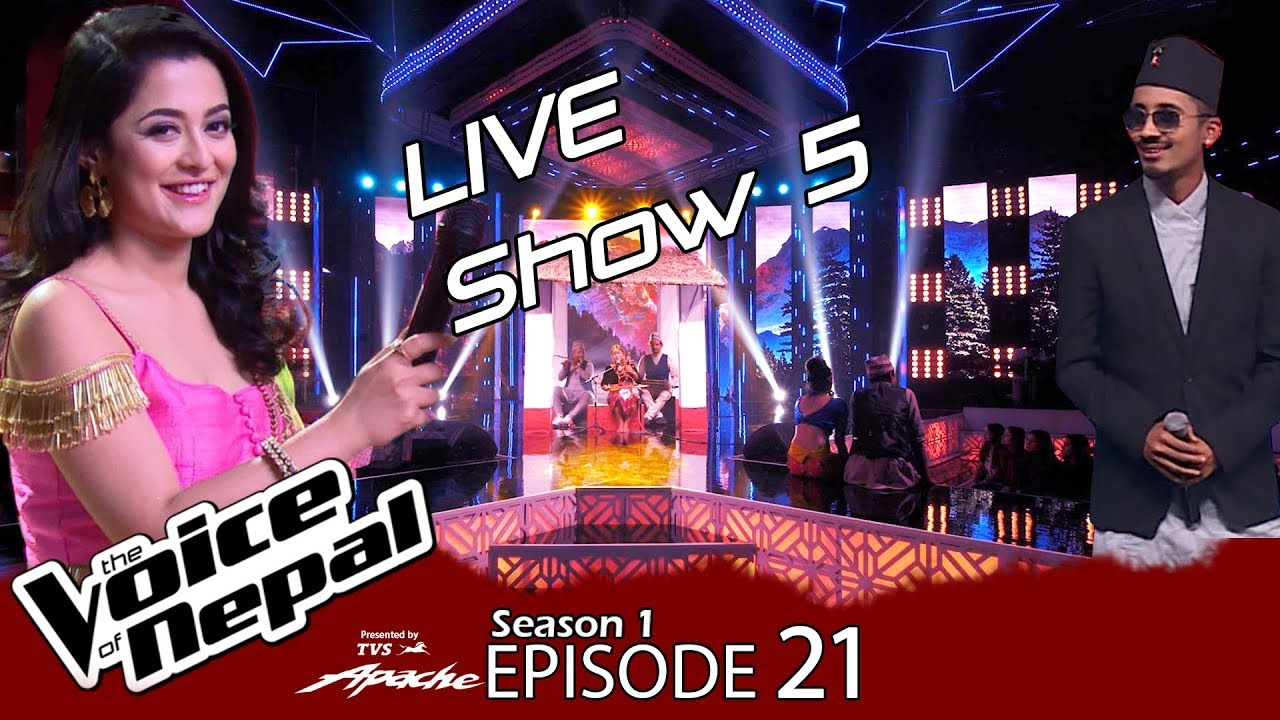 The Voice of Nepal - S1 E21 (Live Show 5)