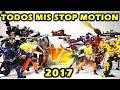 TODOS MIS STOP MOTION 2017 DibujAme Un Rewind #4. ACTION VIDEOS AWESOME MIX