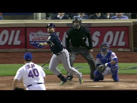 MIL@NYM: Parra powers a solo shot to right-center