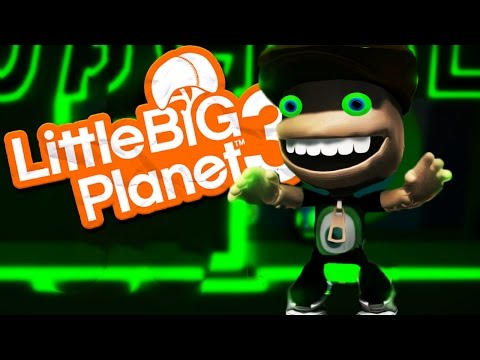 JACKSEPTICEYE LEVELS | Little Big Planet 3 #5