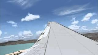 FS2004 Landing to Los Angeles (KLAX)
