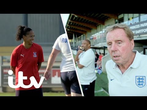 Ex-England Pros Take On Crystal Palace Ladies  Harry&39;s Heroes: The  English  ITV