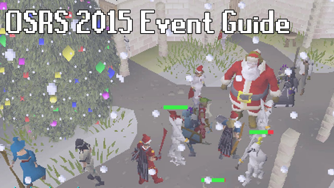 Osrs Christmas.Osrs Christmas Event 2015 Guide