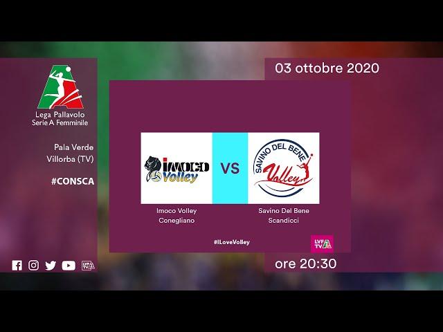 Conegliano - Scandicci | Speciale | 3^Giornata Campionato | Lega Volley Femminile 2020/21