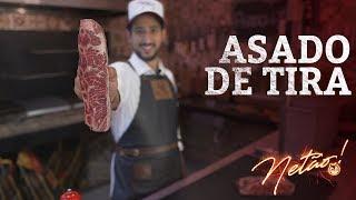Asado de Tira –Medidas da Parrilla! | Netão! Bom Beef #10