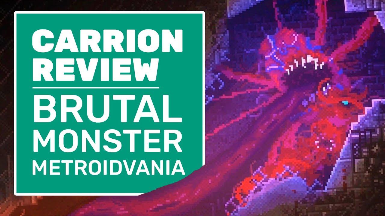Carrion Review Brutal Metroidvania Meets Monster Sim