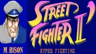 Street Fighter II - Hyper Fighting - Bison (Arcade)