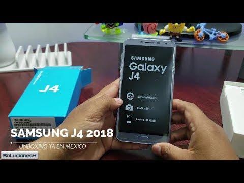 df9fabc2f93 Samsung Galaxy J4 2018 Unboxing en Español - YouTube