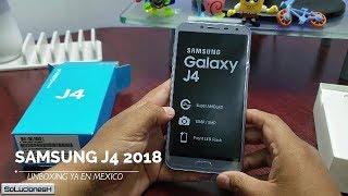 Samsung Galaxy J4 2018 Unboxing en Español