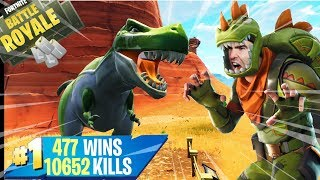 🔴 FORTNITE Lv.100 NOUVEAU SKIN ARMI TRIASSIC - DINO! CODE SUPPORT -xiuderone