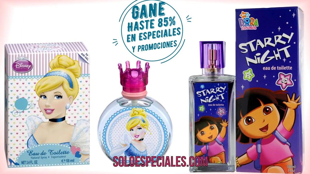 Los Mejores Perfumes Para Niños Y Niñas A Precio De Mayoreo Youtube