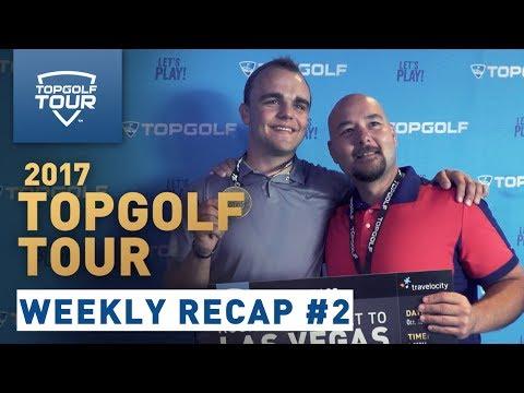 Week 2 Recap | 2017 Topgolf Tour | Topgolf