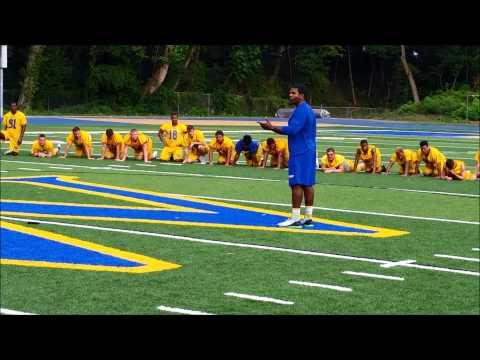 Widener Football 2015: Team Building